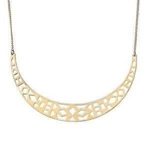 Stella & Dot Avalon Crescent Necklace
